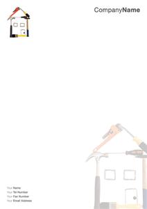 Get great looking premium letterhead design online great looking get great looking premium letterhead design online great looking handyman letterhead artwork and design ref ba002 spiritdancerdesigns Images